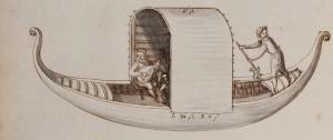 """Skizze von Heinrich Schickhardt """"Reise nach Italien"""" - Landesarchiv BW"""