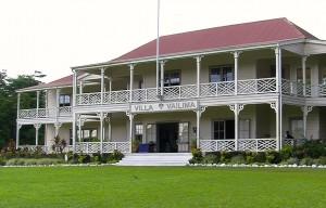 Stevenson Haus in Apia