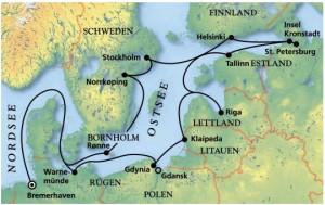 Kreuzfahrt Ostsee